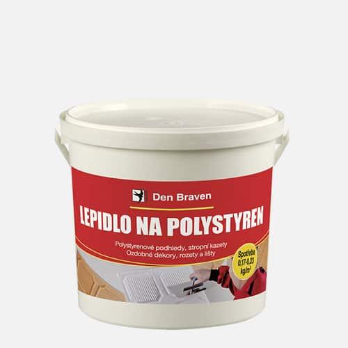 Lepidlo na polystyren, kelímek 1 kg