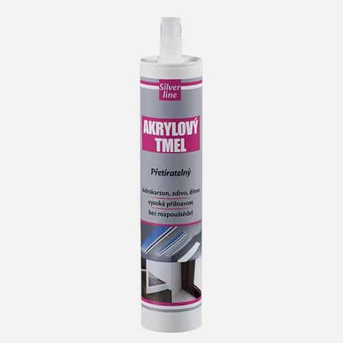 Akrylový tmel Silver line, kartuše 310 ml, bílý