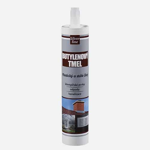 Butylenový tmel Silver line, kartuše 310 ml, bílý