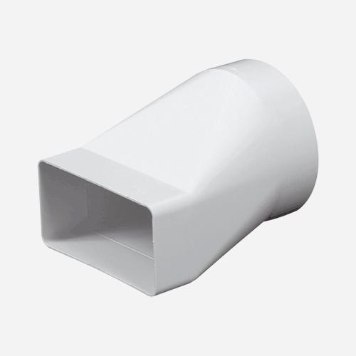 Článek přechodový, průměr 100 mm, 55 mm x 110 mm, plastový