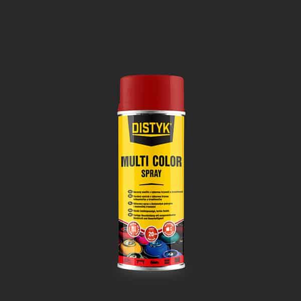 MULTI COLOR SPRAY Distyk, sprej 400 ml, rubínová červeň, RAL 3003